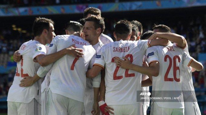 Spanyol Melaju ke 16 Besar Euro 2021, Serba Perdana Warnai Kedigdayaan La Furia Roja Gebuk Slovakia