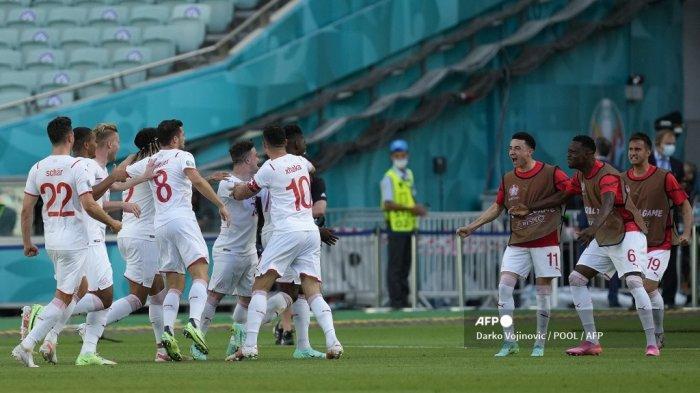 Hasil-Klasemen Grup A Euro 2020, Insiden Berdarah di Laga Imbang Wales Vs Swiss, Italia di Puncak