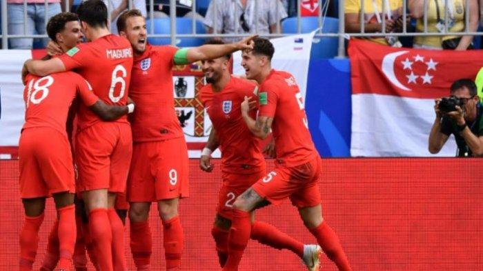 Timnas Inggris ke Semifinal Piala Dunia 2018 Usai Kalahkan Swedia 2-0