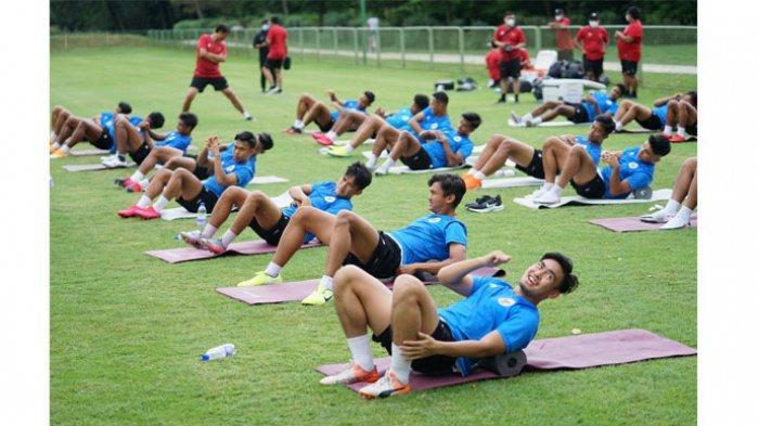 Para pemain Timnas U-19 Indonesia menjalani TC di Kroasia.