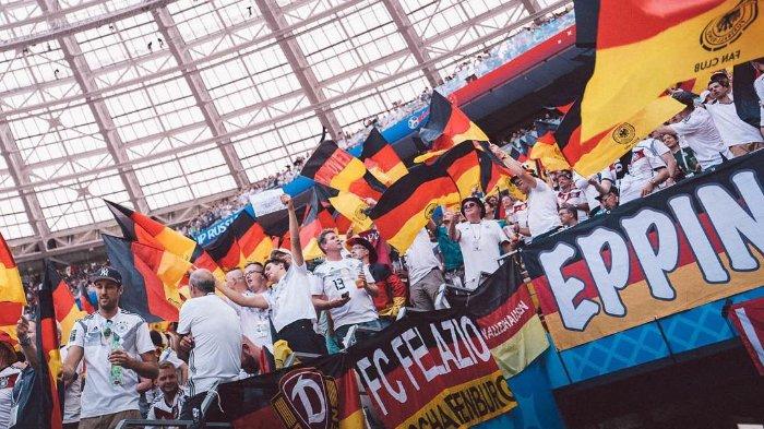Hasil Akhir Jerman vs  Argentina, Sempat Unggul 2-0 di Babak Pertama, Der Panzer Gagal Menang