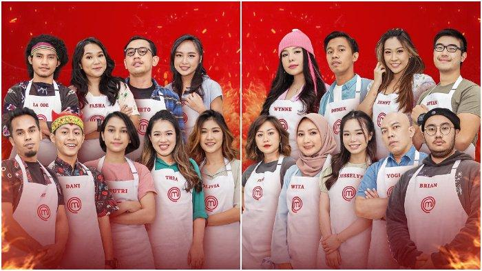 para peserta MasterChef Indonesia Season 8