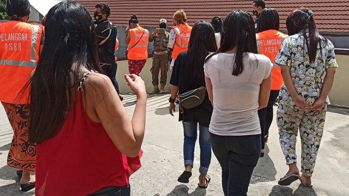 Tetap Buka saat PSBB dan Bulan Ramadan, 51 Orang di Kawasan Lokalisasi Gang Royal Diamankan