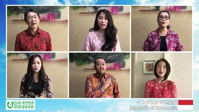 1.300 Sukarelawan Olimpiade Tokyo Menyanyikan 204 Lagu Kebangsaan, Termasuk Lagu Indonesia Raya