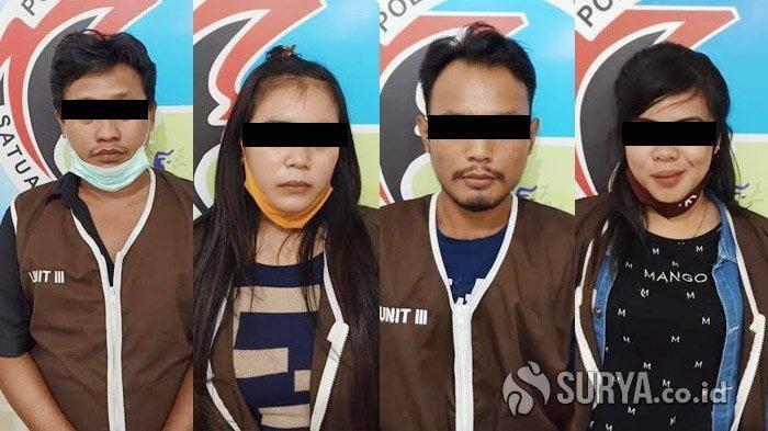 Maksud Hati Menikmati Jasa Layanan PSK, Dua Pria Ini Tertangkap Saat Pesta Sabu di Kamar Hotel