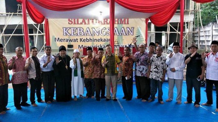 Semangat Toleransi Warga Kampung Sawah, Ibadah Salat Ied 1442 H dan Misa Ekaristi Kudus Kondusif