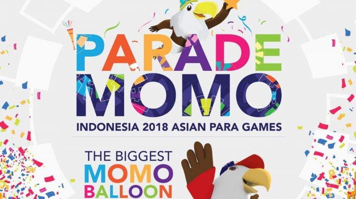 Pagi Ini Momo si Maskot Asian Para Games Ramaikan Car Free Day, Ada Band Kotak dan HIVI