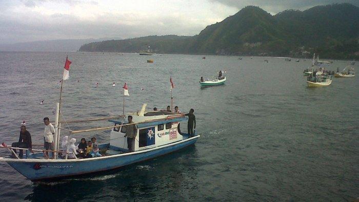 Puluhan Perahu Dihias untuk Ikut Parade Pesona Kebangsaan di Ende