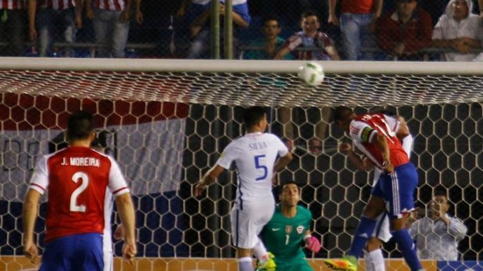 Paraguay vs Cile.