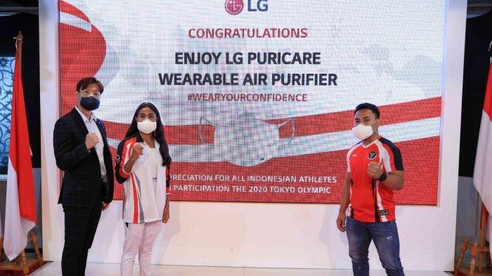 LG Indonesia Hadiahkan LG Puricare Wearable untuk Atlet Indonesia yang Berprestasi Dunia