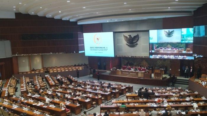 Saat PPKM, Rapat Pembukaan Masa Sidang DPR Diikuti 73 Anggota Dewan Hadir Secara Fisik