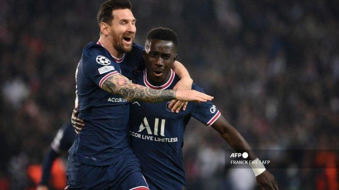 Babak I PSG vs Man City, Liga Champions: Les Parisiens Unggul Tipis Berkat Gol Idrissa Gueye