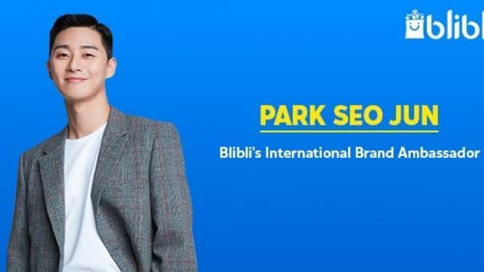 Park Seo Jun Jadi Brand Ambassador Internasional Blibli.com