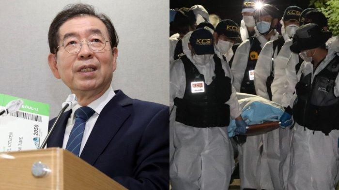 Wali Kota Seoul, Park Won Soon (kiru), ditemukan meninggal, Jumat (10/7/2020), setelah dilaporkan menghilang. Ia sempat meninggalkan pesan terakhir saat pergi dari rumah.