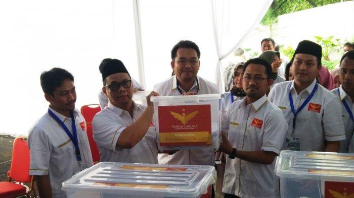 Daftar ke KPU, Partai Garuda Mengaku Punya Gerakan Senyap