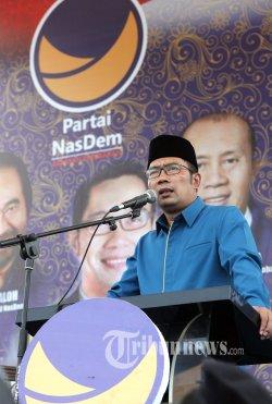 Ridwan Kamil Janji Tak Gunakan Persib sebagai Alat Kampanye
