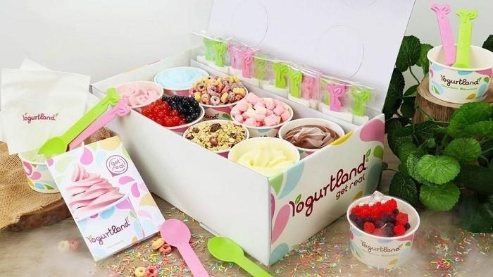 Party Set Box dari Yogurtland