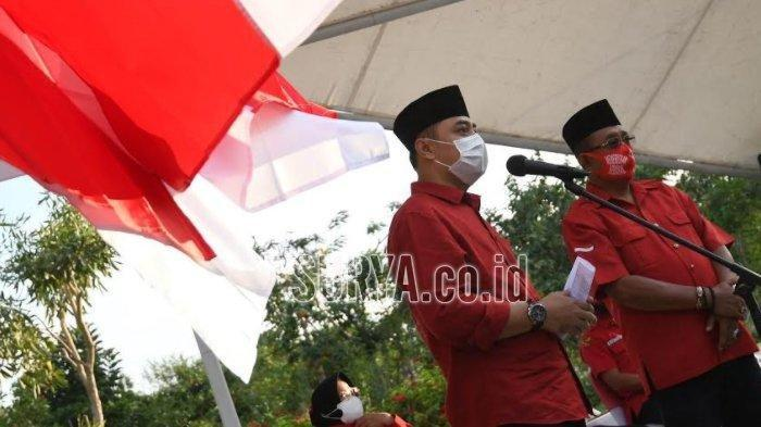 Besok Bakal Calon Wali Kota Surabaya Eri Cahyadi - Armuji Daftar ke KPU