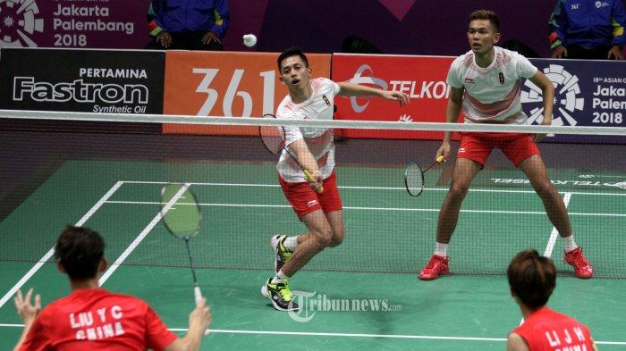 Hasil Thailand Open 2021, Fajar/Rian Menang Dramatis Atas Wakil Tuan Rumah