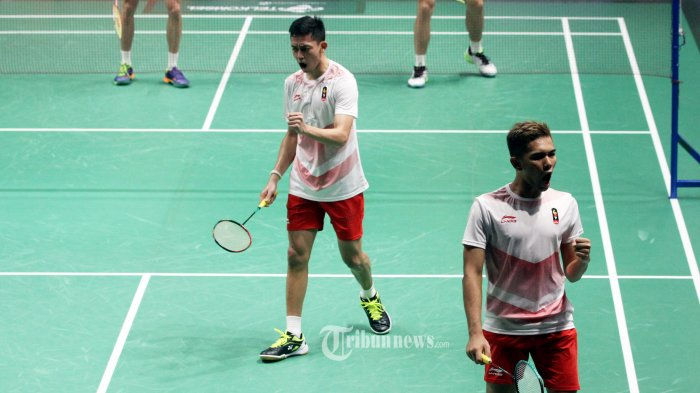 Ganda Putra Indonesia Fajar/Rian Bidik Kembali Posisi 5 Besar Dunia di Thailand Open 2021