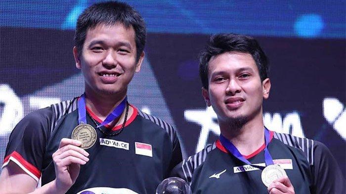 Pasangan ganda putra Indonesia, Mohammad Ahsan/Hendra Setiawan berhasil raih gelar juara dalam turnamen All England Open 2019