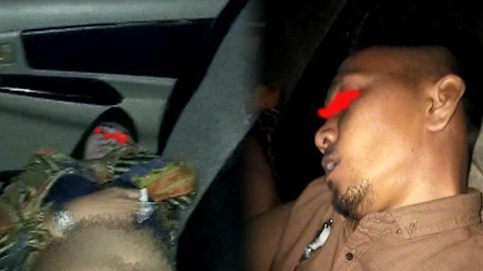 Ilustrasi: Pasangan mesum yang pingsan dalam mobil