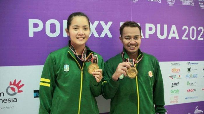 Hasil Perolehan Medali PON Papua 2021 - Jawa Timur Tambah Koleksi Emas dari Cabor Bulu Tangkis