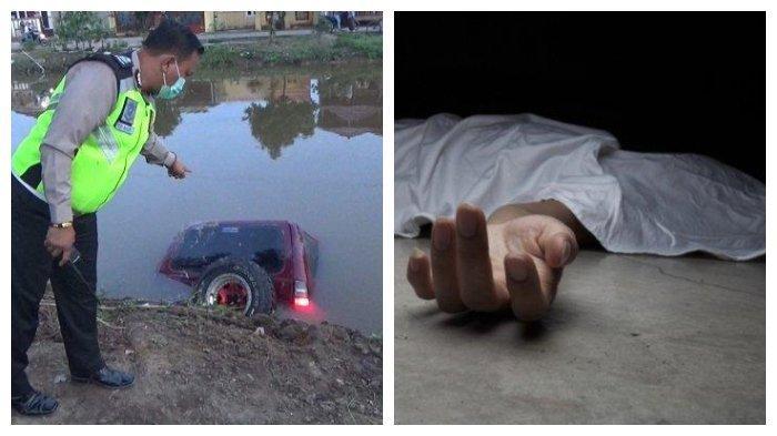 Pasangan Pengantin Baru Terpisah oleh Maut, Wanita Ini Tewas Tenggelam, Mobil Terjun ke Sungai