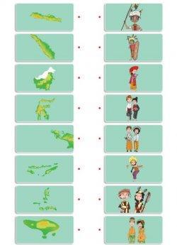 Pasangan Pulau dan Suku