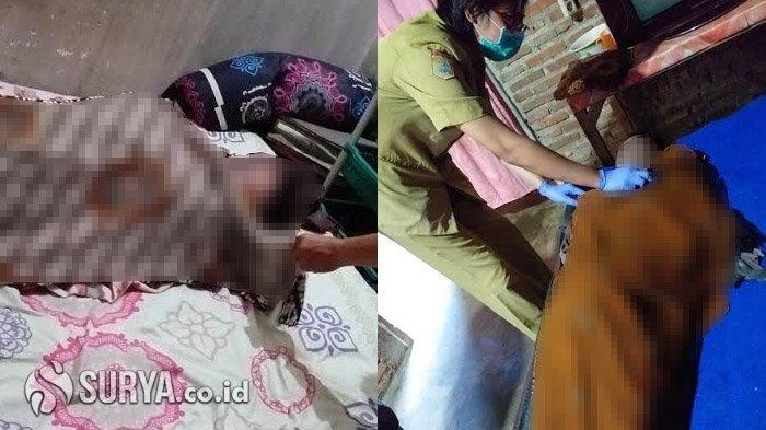 Pasangan suami istri di Desa Petungsewu, Kecamatan Wagir, Kabupaten Malang, ditemukan tewas di rumahnya, Selasa (10/3/2020).