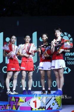 Indonesia Masters 2020 - Dibabat Ganda Putri Denmark, Dominasi Jepang di Istora Terhenti