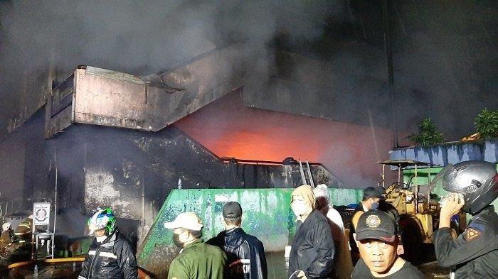 Kebakaran Pasar Inpres Pasar Minggu Diperkirakan Hanguskan 401 Kios