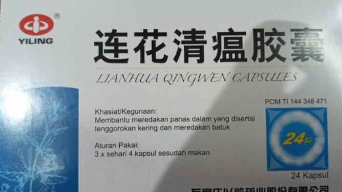 Ini Alasan BPOM Sempat Beri Rekomendasi Lianhua Qingwen Capsules Sebagai Obat Donasi Covid-19