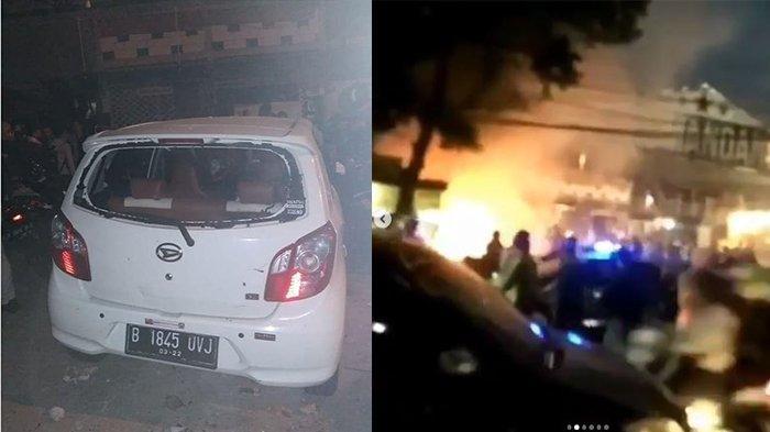 Pasca penyerangan di Kafe Komandan tempat suporter PSM nobar di Jakarta Selatan
