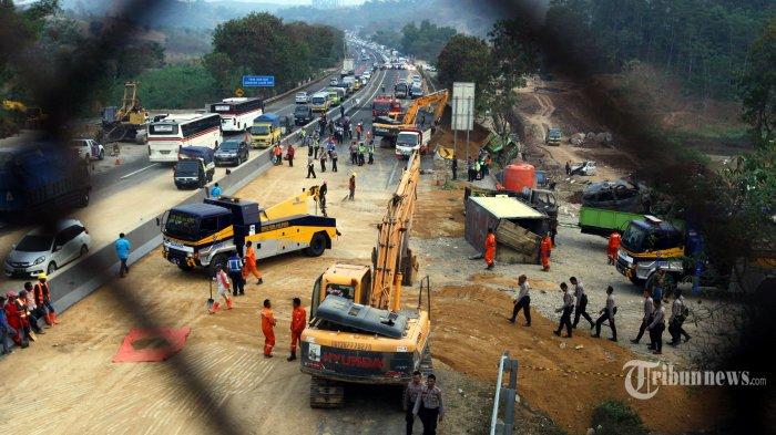 Kronologi Lengkap Kecelakaan Tol Cipularang yang Tewaskan 8 Orang, Sopir Truk Jadi Tersangka