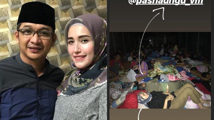 Update Gempa Donggala - Tidur di Dalam Tenda Pengungsian, Adelia Pasha: Baru Kali Ini Ngerasain