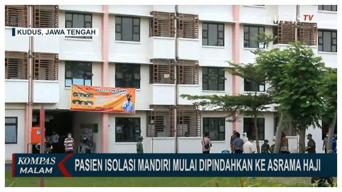Rumah Sakit Penuh, 100 Pasien Covid-19 OTG dari Kudus dipindahkan ke Asrama Haji Donohudan Boyolali