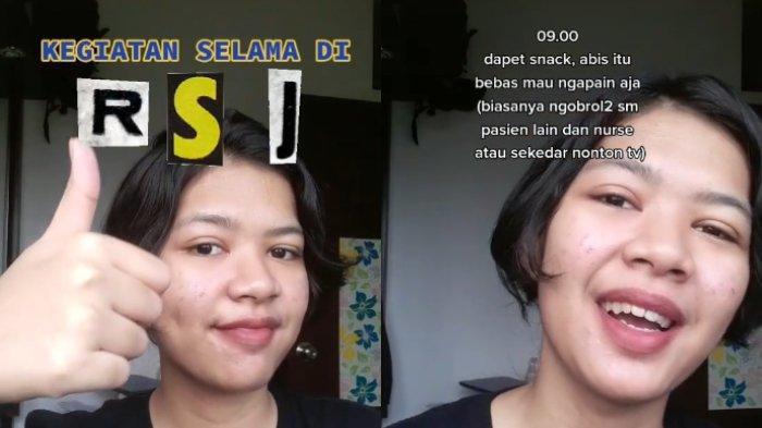 Video seorang gadis membagikan kisahnya saat menjalani perawatan di Rumah Sakit Jiwa (RSJ), viral di media sosial.