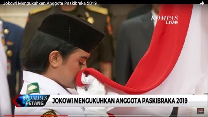 Daftar Lengkap Nama 68 Paskibraka Nasional Bertugas di Istana Presiden Jokowi 17 Agustus 2019 Besok