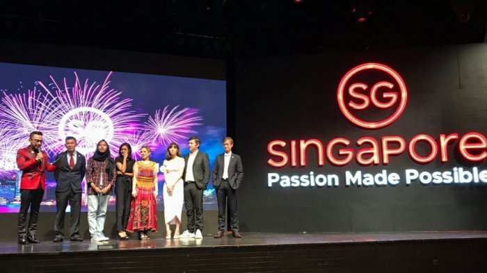 """Singapore Tourism Board (STB) Meluncurkan """"Singapore: Passion Made Possible"""" di Indonesia"""