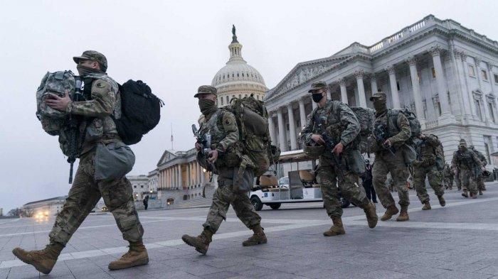 FBI Periksa Pasukan Penjaga Keamanan untuk Antisipasi Ancaman Jelang Pelantikan Joe Biden