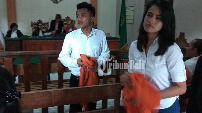 Wanita Cantik ini Menangis di PN Denpasar, Rahasia Bersama Suami Terungkap Saat Kamar Kos Dibuka