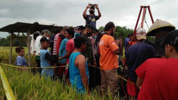 Pasangan Suami Istri Ditemukan Tewas Berpelukan di Dalam Sumur, Diduga Keracunan saat Perbaiki Pompa