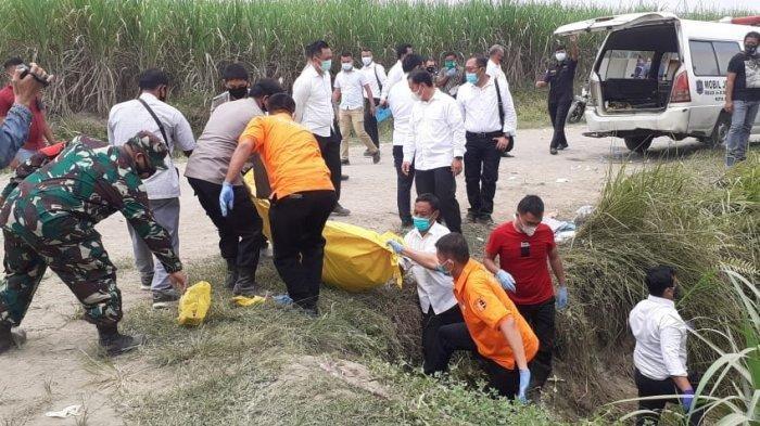 Pasangan Suami Istri Ditemukan Tewas di Kebun Tebu, Diduga Korban Begal, Kepala Korban Penuh Luka