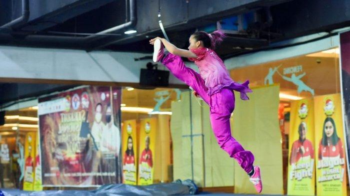 Tiga Pewushu DKI Jakarta Jadi Bintang pada Hari Keempat Sirkuit Nasional Wushu Taolu Seri II/2021