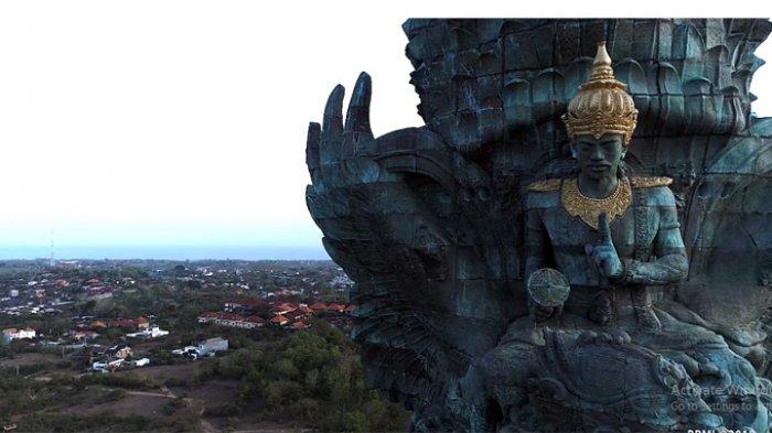 Jokowi: Patung Garuda Wisnu Kencana Mahakarya Anak Bangsa, Patung Tertinggi ke-3 di Dunia
