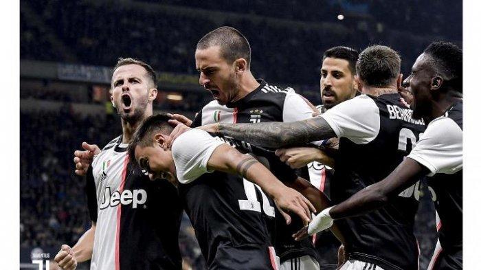 Paulo Dybala mendapat perhatian dari rekan usai jebol gawang Inter Milan