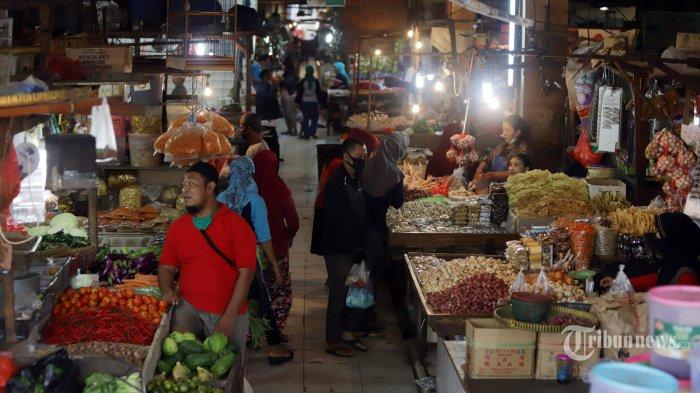 Antisipasi Kluster Covid-19 dari Pasar Tradisional, Pemprov Jatim Siapkan Sistem Ganjil Genap