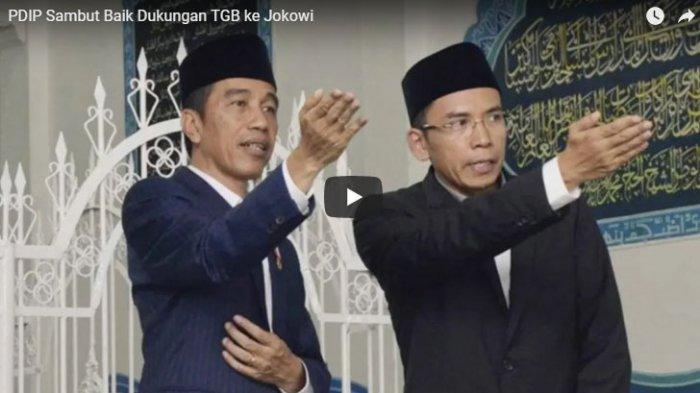 PDIP Sebut Nama TGB Ikut Mengerucut Jadi Cawapres Jokowi