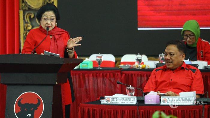 Megawati Umumkan Calon Kepala Daerah : Hati-hati Jangan Santai - santai, Banyak Musuh Dalam Selimut
